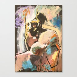 Bearded man, 2018 Canvas Print
