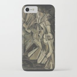 Marcel Duchamp - Nude Descending a Staircase, No. 2 iPhone Case