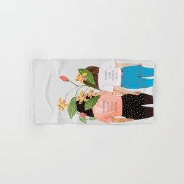 Motto #illustration #concept #painting Hand & Bath Towel