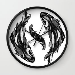 Signs of the Zodiac - Pisces Wall Clock