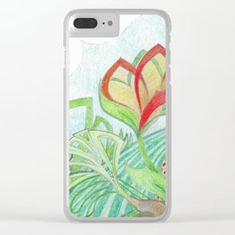 The Bloom Clear iPhone Case