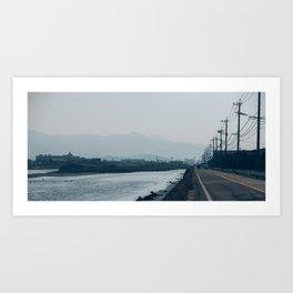 road movie Art Print