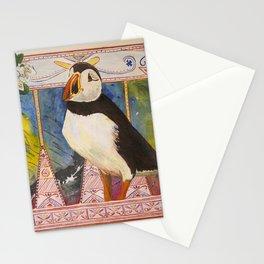 Innu Munaikutan ( Arctic Puffin ) Stationery Cards