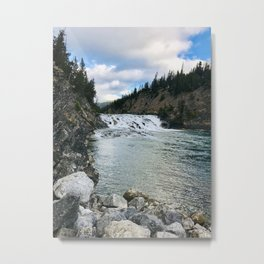 Bow Valley River Metal Print