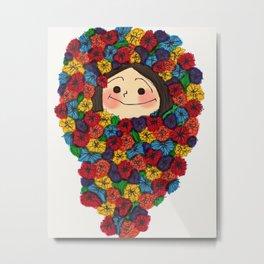 Flower Girl (2) Metal Print