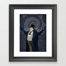 Oswald Cobblepot - The King Penguin Returns! Framed Art Print