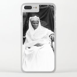 Harriet Tubman Clear iPhone Case