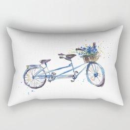 Tandem bicycle Rectangular Pillow