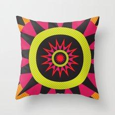 flor de oaxaca Throw Pillow