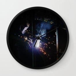 Star Bright Wall Clock