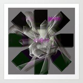 Triangle chu Art Print