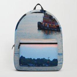 Red Tug Boat Backpack