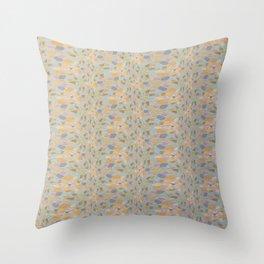 VESTIGE modern take on vintage chintz wallpaper Throw Pillow
