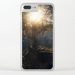 a special kind of night Clear iPhone Case