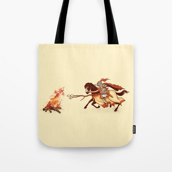 Marshmallow Joust Tote Bag
