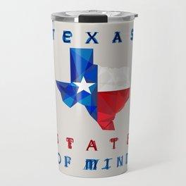 Texas State of Mind Travel Mug