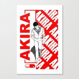 Kaneda Red Canvas Print