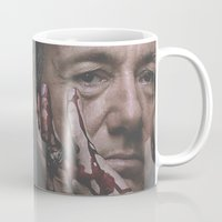 house of cards Mugs featuring Frank Underwood / House of Cards by Earl of Grey