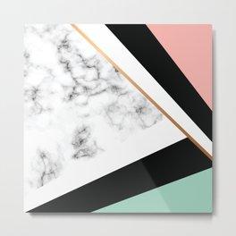 Marble III 031 Metal Print