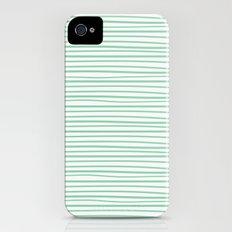 Sailor Tee - Mint iPhone (4, 4s) Slim Case