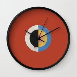 Svanen (1915) by Hilma af Klint Wall Clock