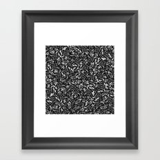 Seeds Framed Art Print