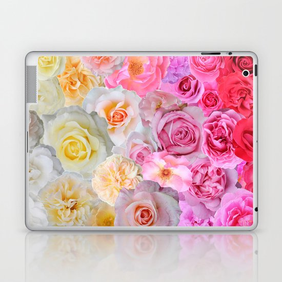 Spring Roses Laptop & iPad Skin