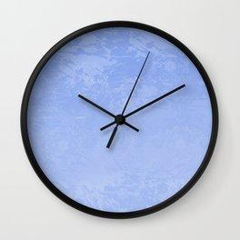 Icy Purple Abstract Wall Clock
