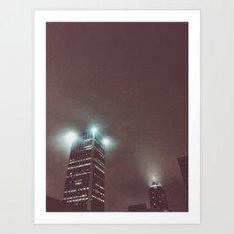 Midnight Fog Art Print