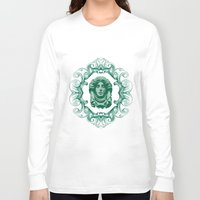 haunted mansion Long Sleeve T-shirts featuring Haunted Mansion - In Regions Beyond Now by Joel Dickinson