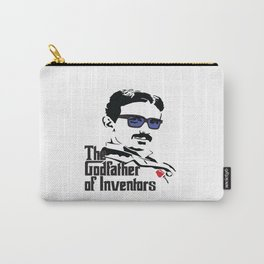 Tesla the Godfather of Inventors Carry-All Pouch