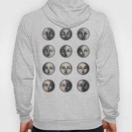 moon phases and romanticism Hoody