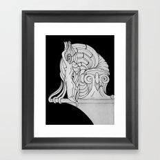 Ivory Tower (v3) Framed Art Print