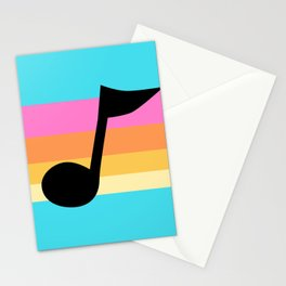 Mabel Music Note Stationery Cards