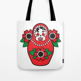 Duška's Babuška Tote Bag