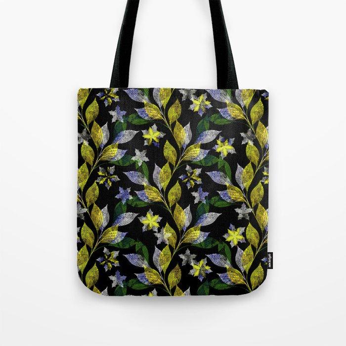 Floral pattern . Tote Bag
