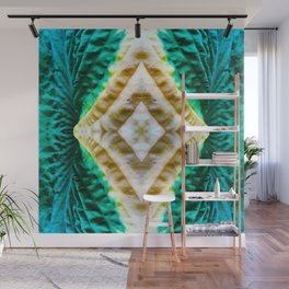 85 - Hosta abstract pattern Wall Mural