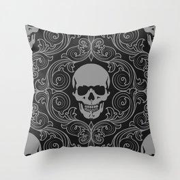 Cranium #003 Throw Pillow