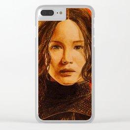 Katniss Everdeen Clear iPhone Case
