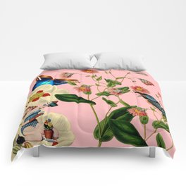 Big Flowers dream pink Comforters