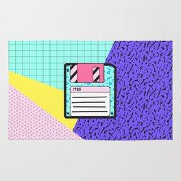 Memphis Retro Revival Floppy Disk '88 Rug