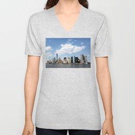 Manhattan, New York City Unisex V-Neck