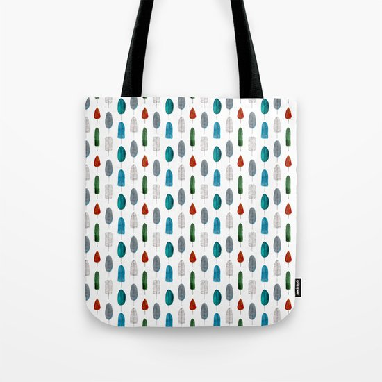 Leafs pattern Tote Bag