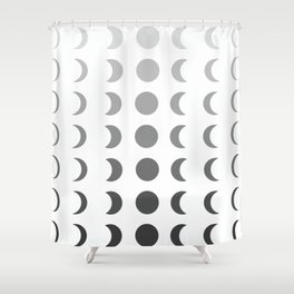 lunar Shower Curtain