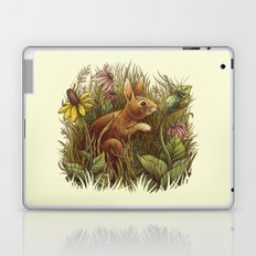 The Cottontail and the Katydid Laptop & iPad Skin