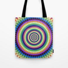 Psychedlic Rings Tote Bag
