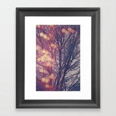 All the pretty lights (2) Framed Art Print