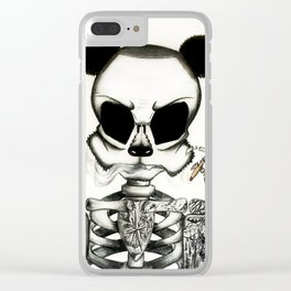 Lone Wolf Clear iPhone Case
