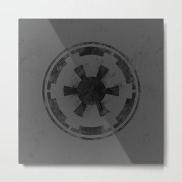 SW Republic Black Flag Metal Print
