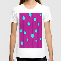 balloons T-shirts featuring Balloons  by JuniqueStudio